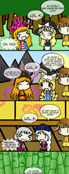 Touhou 15 ~Laughing Out Loud oKay~ by Tsukune429