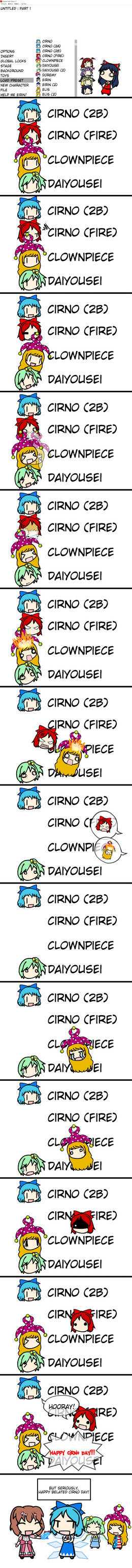 Happy Belated Cirno Day!