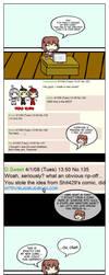 Creators' greatest fear by Tsukune429