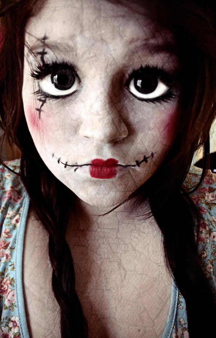 Creepy Doll Halloween Costume