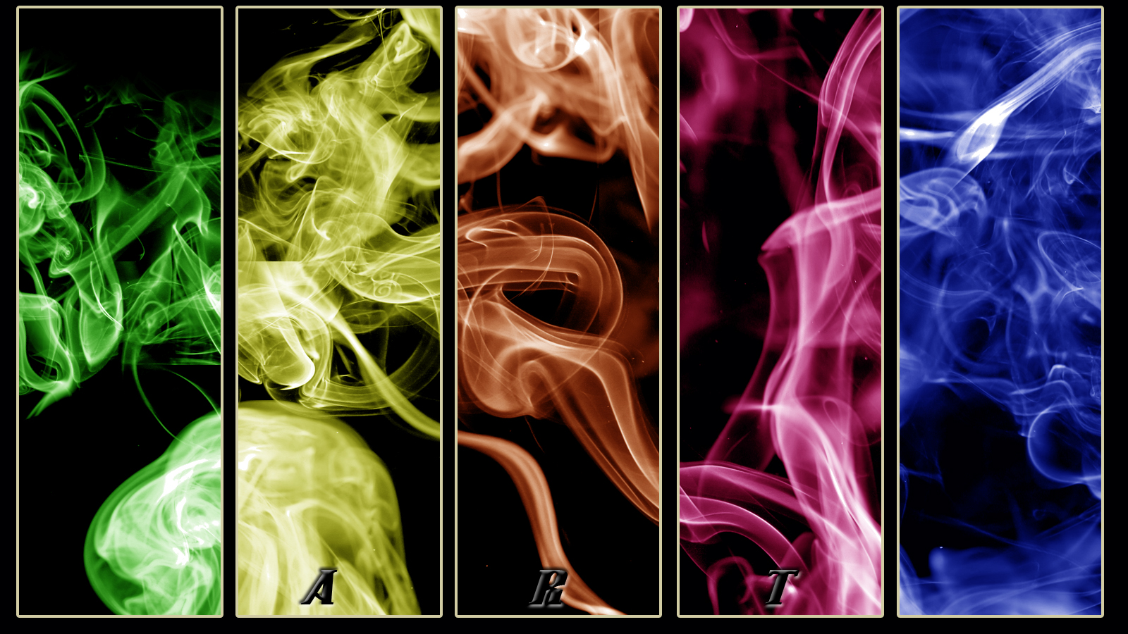 Colorful Smoke Tumblr for Pinterest