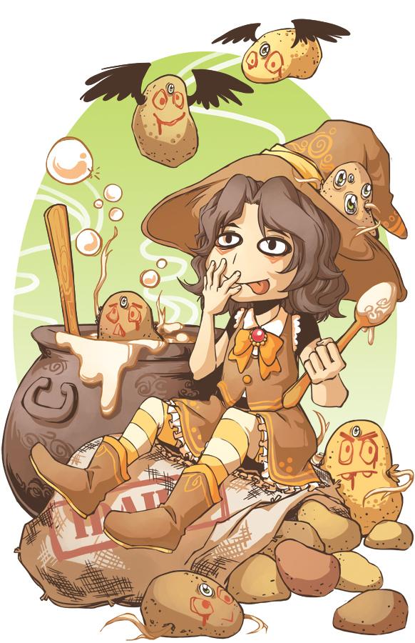 Potato Witchhhh by KrazyD