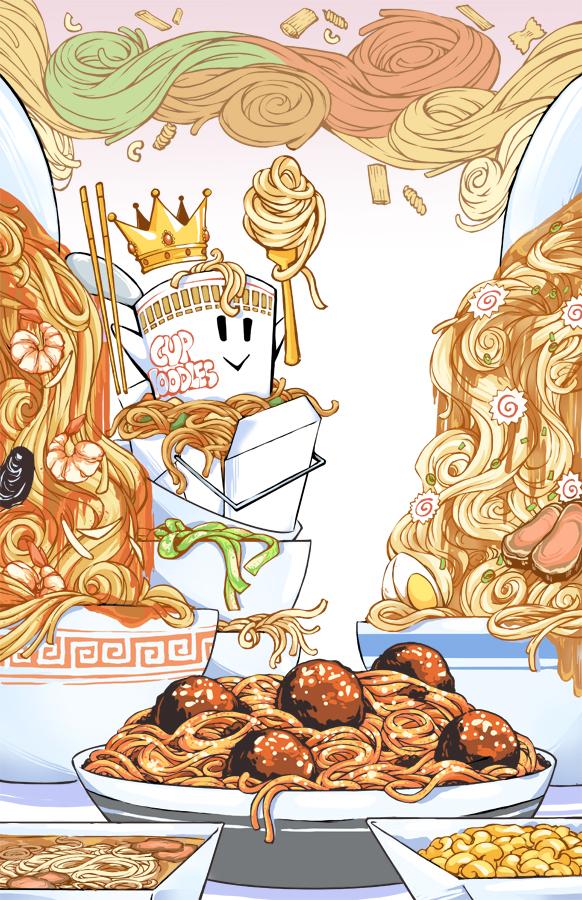Noodles n' Pain by KrazyD