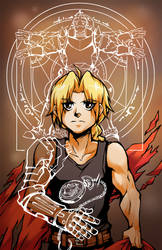 Full metal alchemist by KrazyD