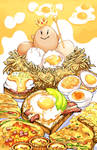 His eggcellency back in the day by KrazyD