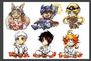 Charm designs for the summer!