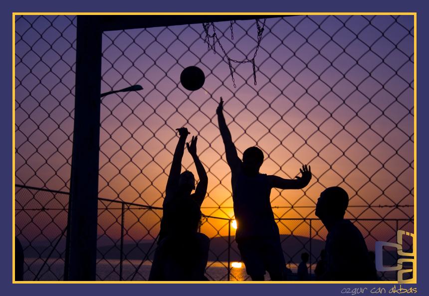 Basketball by ozgurcanakbas
