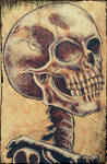 Comic style skeleton