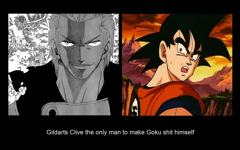 Gildarts v Goku by Naruto3323Gildarts Vs Bluenote