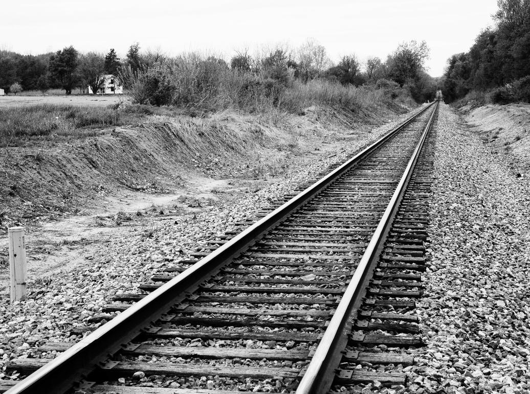 Railroad Tracks by akwright on DeviantArt