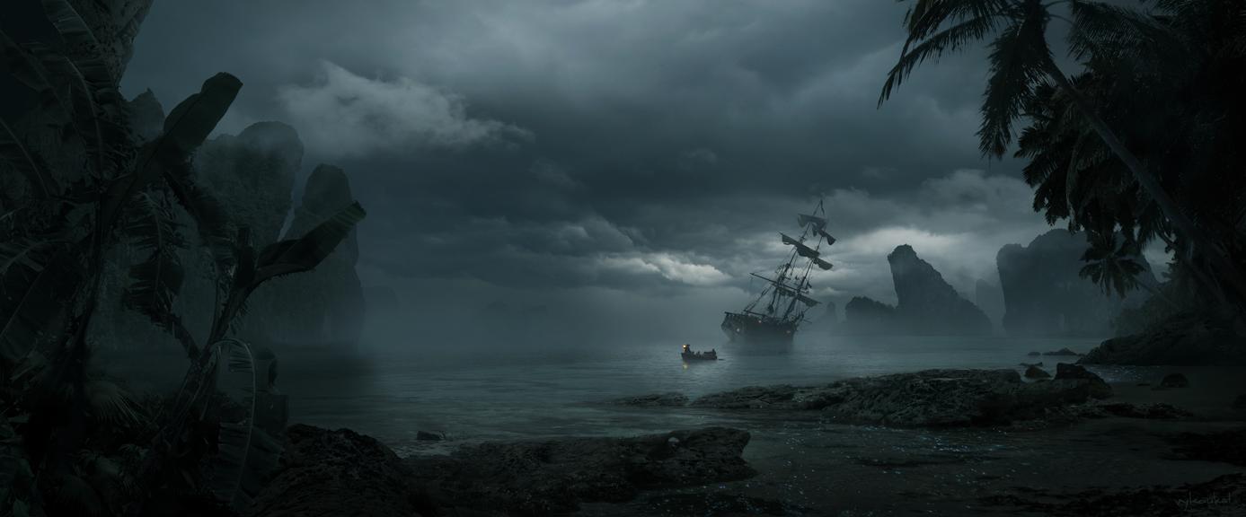 Treasure Bay by Vykoukal