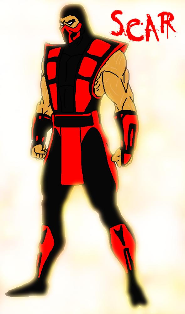 [RQ] Mortal Kombat OC- Hellfire by michelle-bandi-wolf on