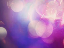 Purple bokeh by bluezircon-graphics