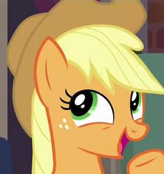 Applejack epic face
