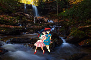 Ranma 1/2 Waterfall (Remake)