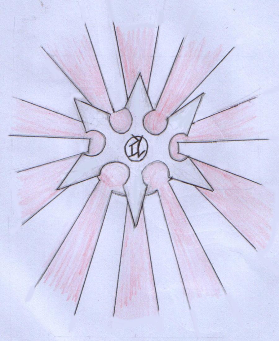 shuriken rising sun tattoo by deep census on deviantart. Black Bedroom Furniture Sets. Home Design Ideas