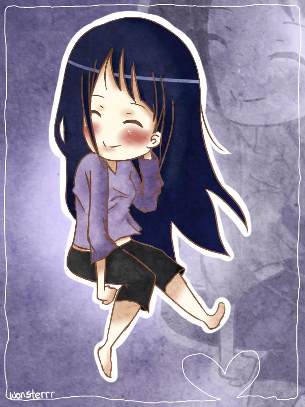 Hinata Hyuuga by wonsterrr