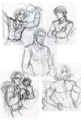 APH tourism sketches by belligerent