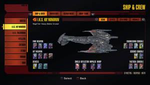 Star Trek Online IKS kronor'uv MK II
