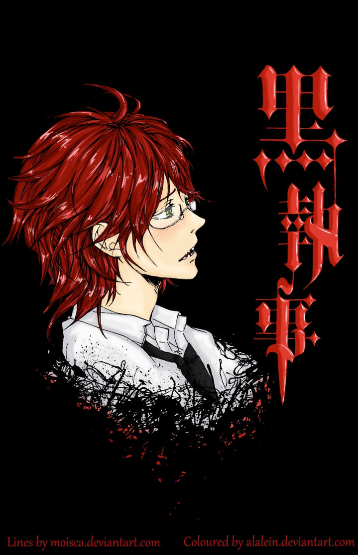Kuroshitsuji: Grell Sutcliff II Coloured by Alalein