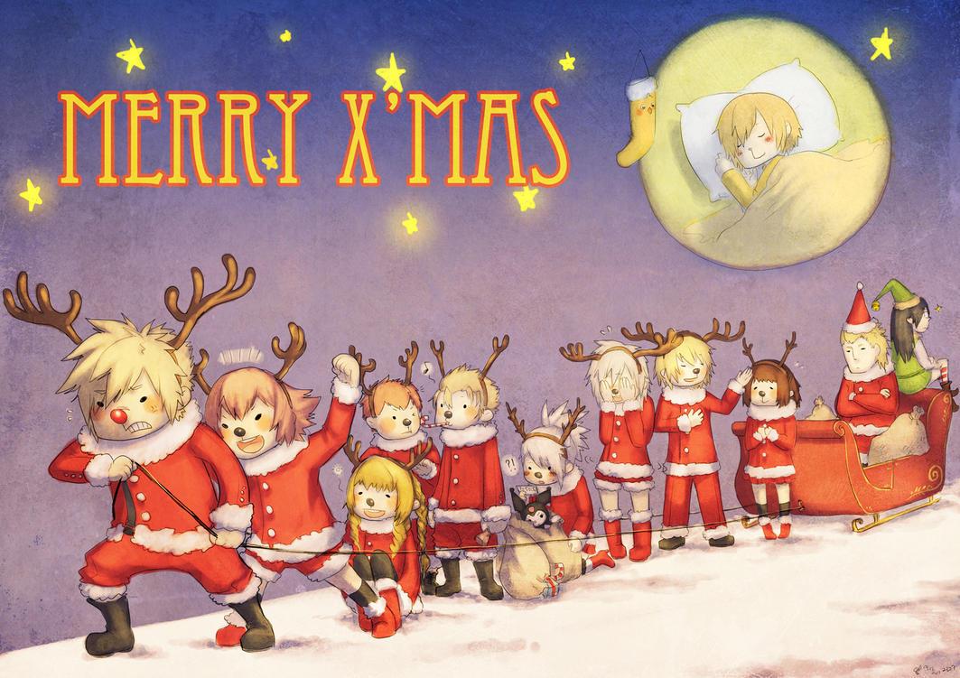 Merry X'mas Class 0 by ReiTuki
