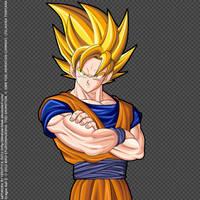 Goku Super Saiyajin by Ferstyle-Fotek