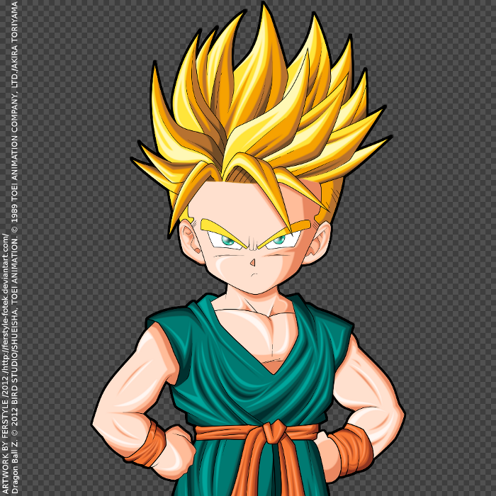 Dragonball Super Trunks Little Kid