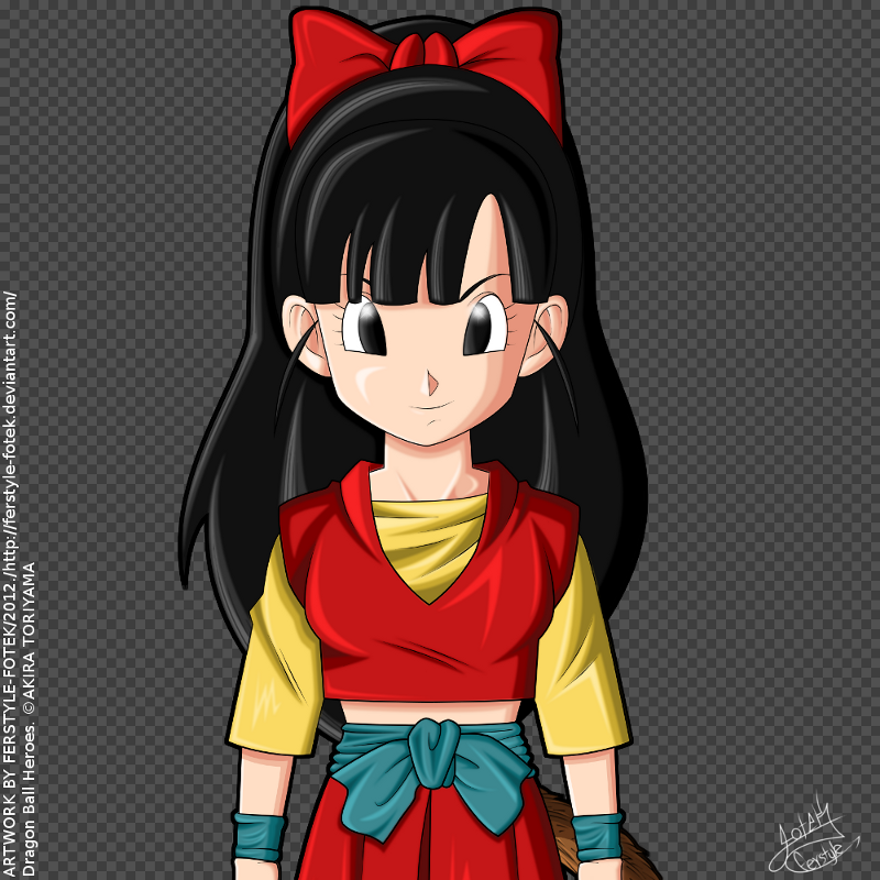 heroine dragon ball heroes by ferstyle fotek on deviantart