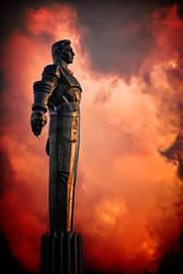 Gagarin at fire