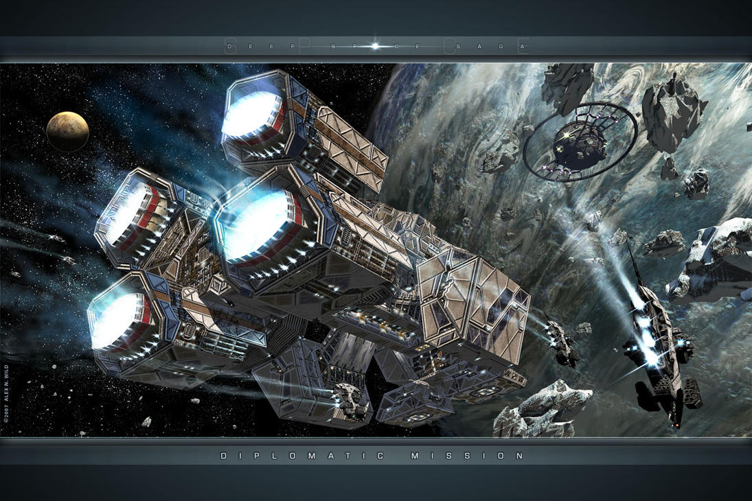 DSS: Diplomatic Mission by AlexWild