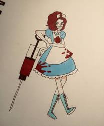 Evil Nurse by PiranhaPoison