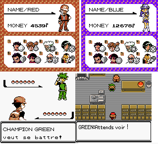 Pokemon Fire Red GBC Color by Onionkun on DeviantArt