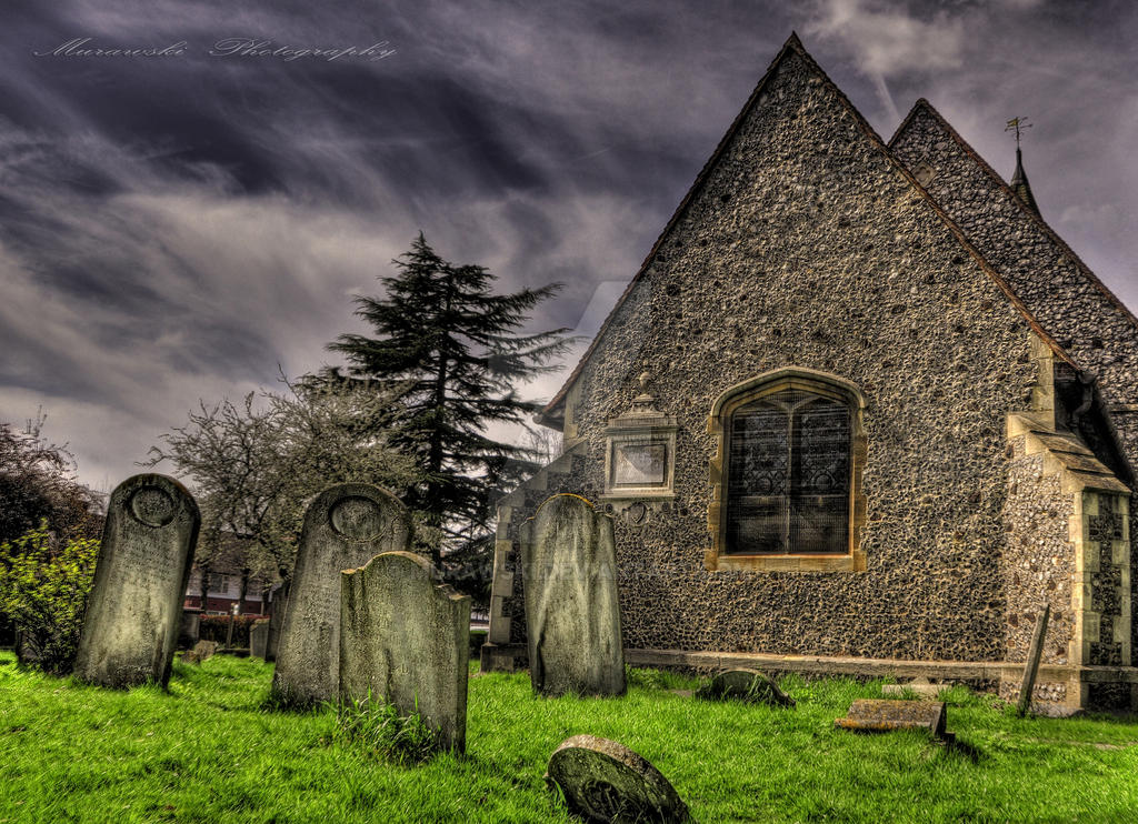 cemetery HDR by Murawski