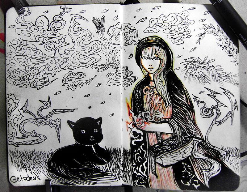 #14 Black Riding Hood =) by Gelodevs