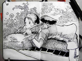 #17  Spirited AwayYour real name is Kohaku. by Gelodevs