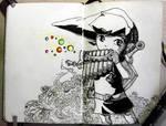 #18 Toon Link by Gelodevs