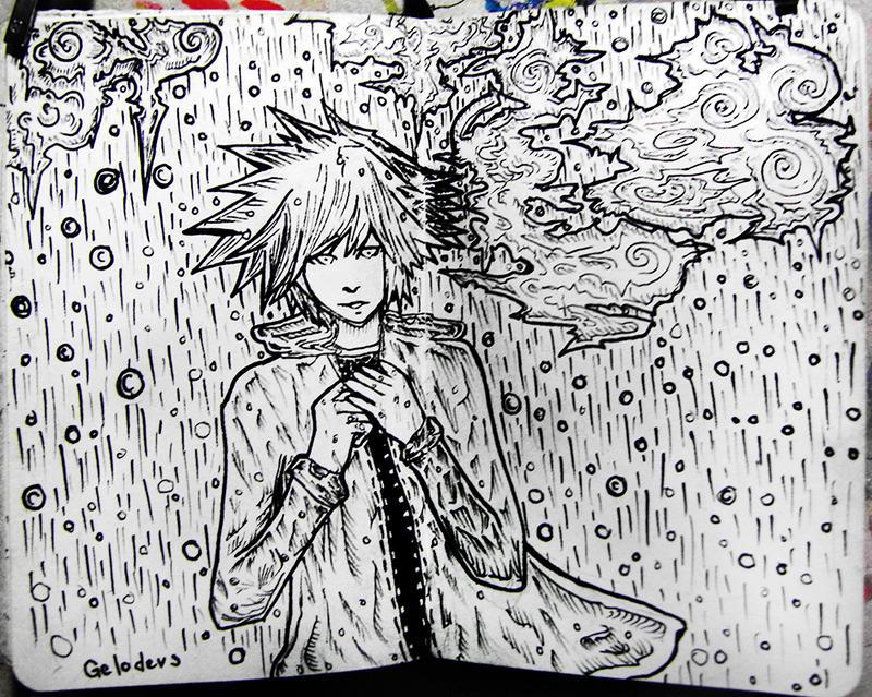 #28 Kiss the rain by Gelodevs