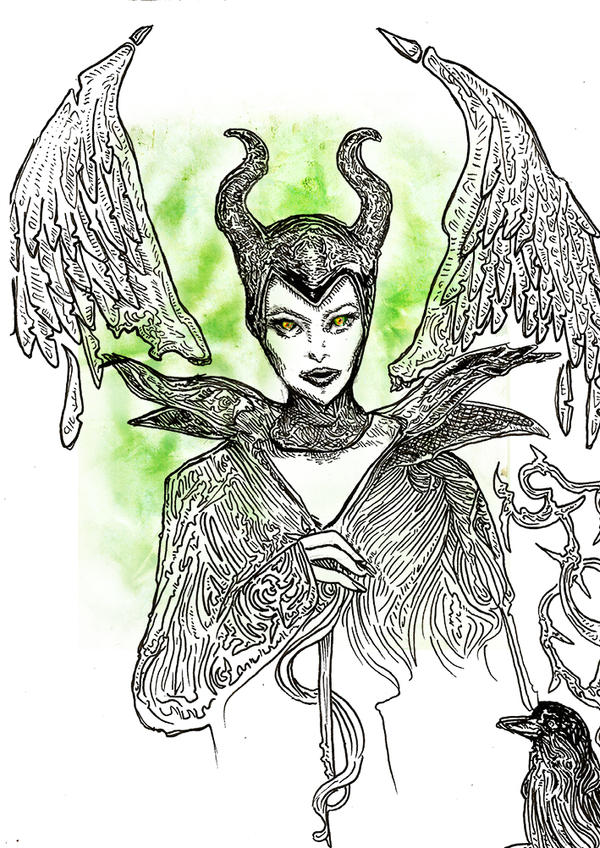 Maleficent by Gelodevs