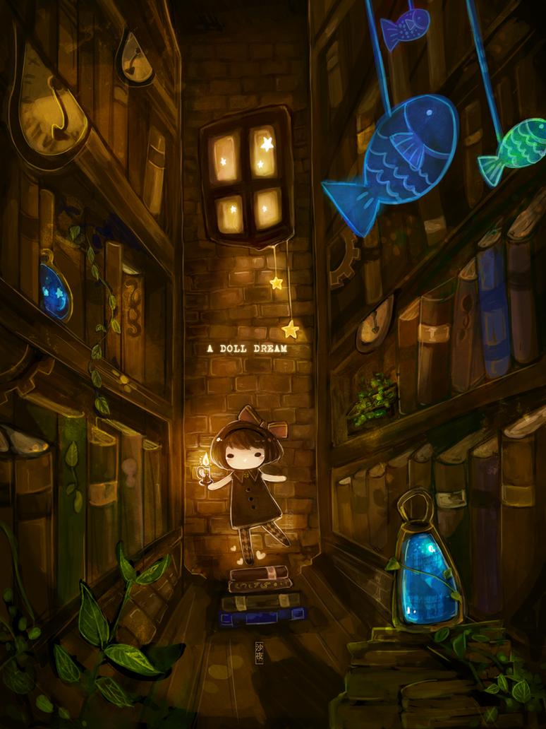 A Doll Dream by Xsaye