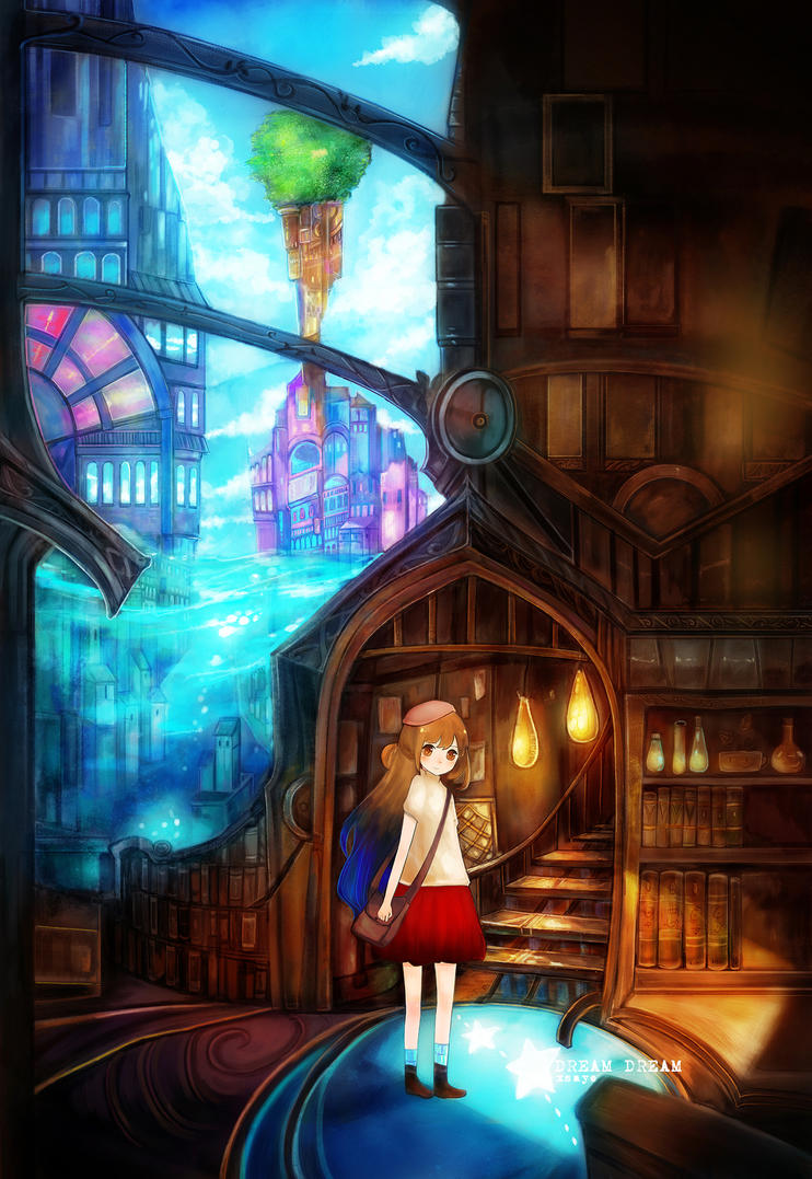 DREAM DREAM in wonderland by Xsaye