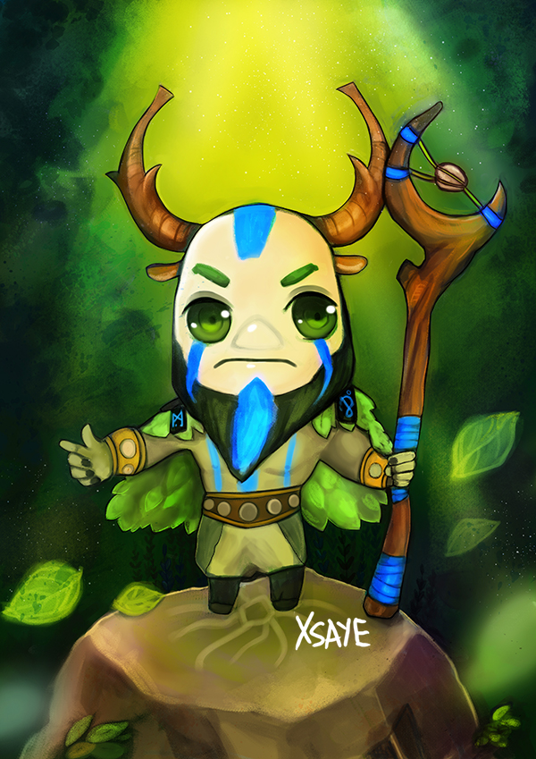 nature prophet dota 2 by xsaye on deviantart