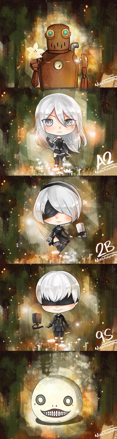 Nier  Automata by Xsaye