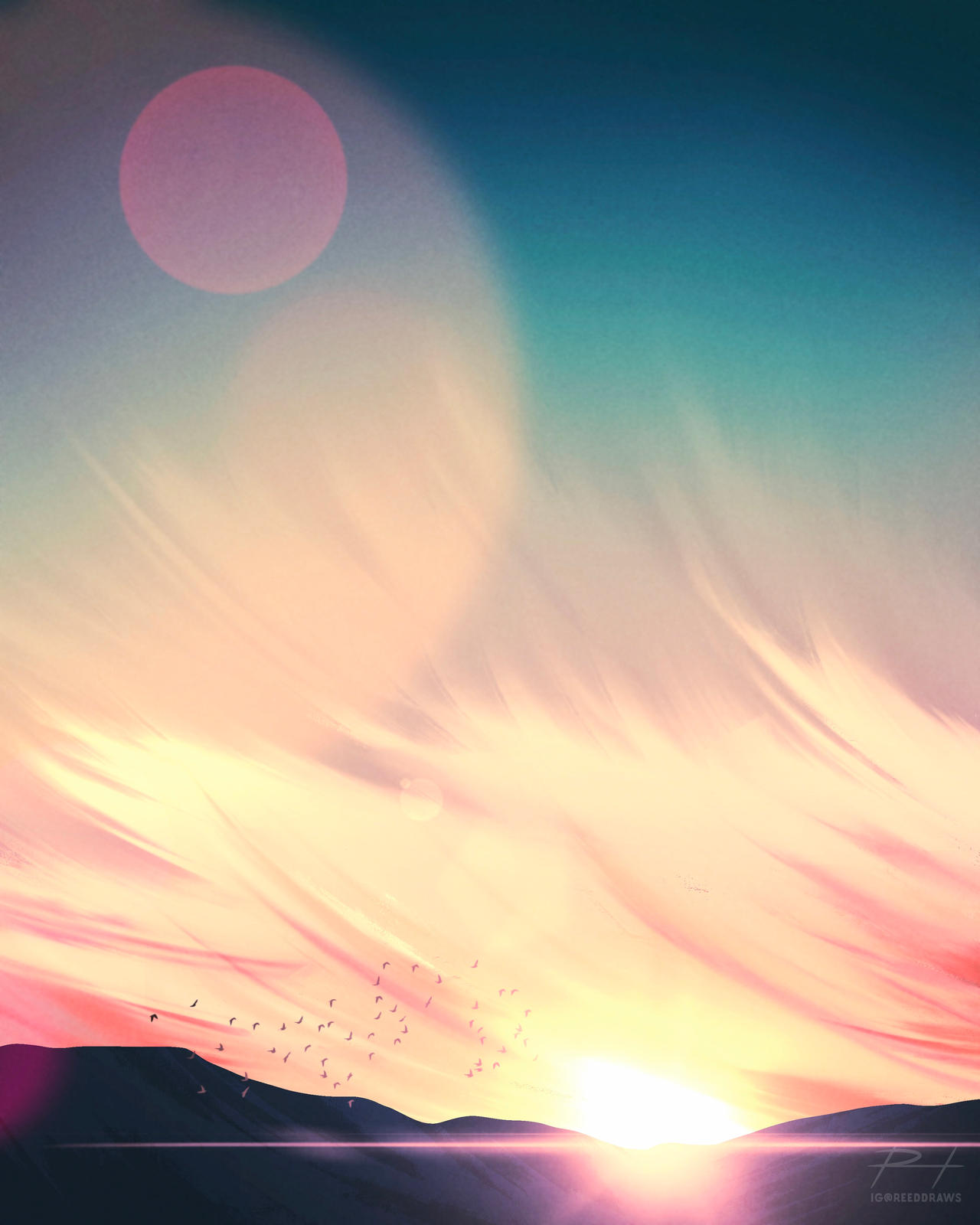Brilliant Sunset Sky