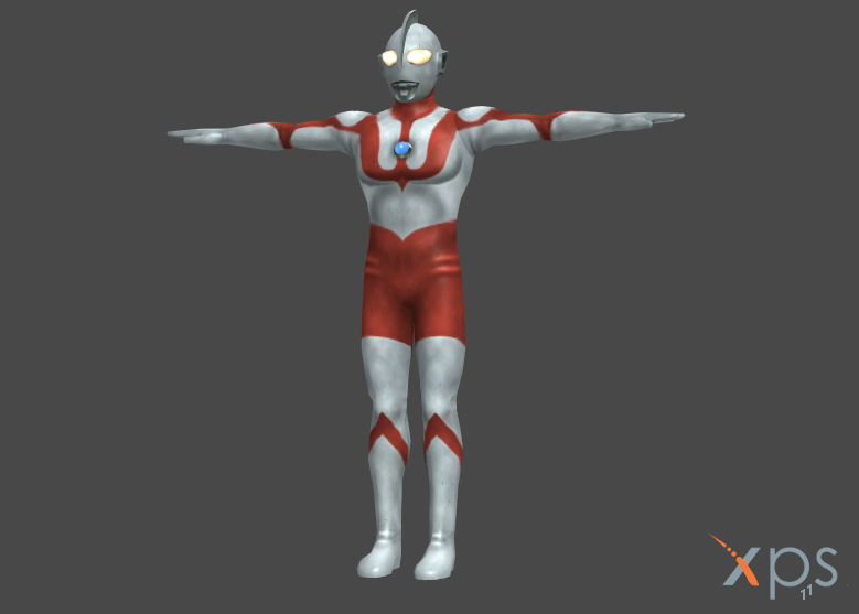 Ultraman  (bones renamed) by HeroineFactory