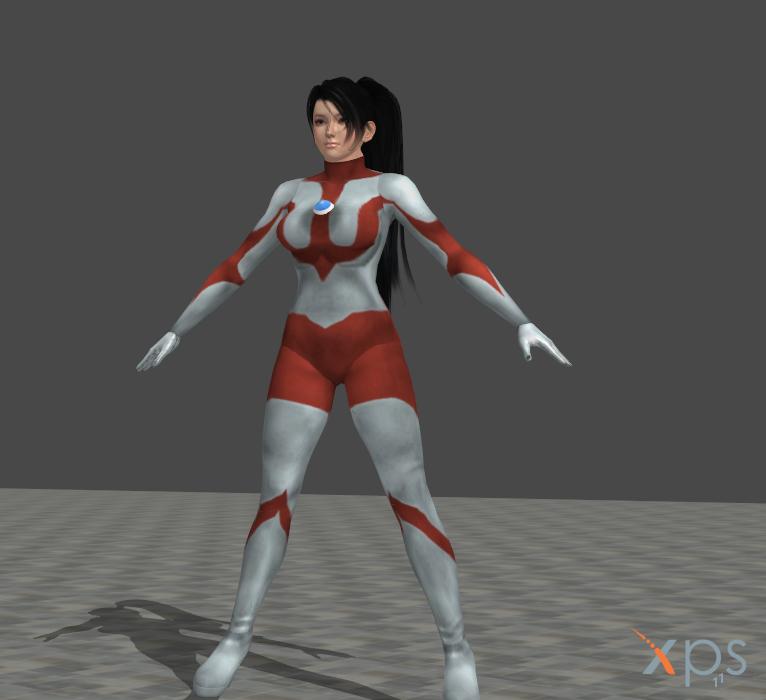 UltraWoman Momiji (MOD) for XNALARA by HeroineFactory