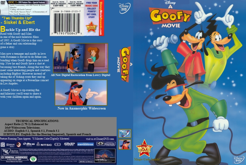 A Goofy Movie Custom DVD Cover by DieIllusiveMan on DeviantArt