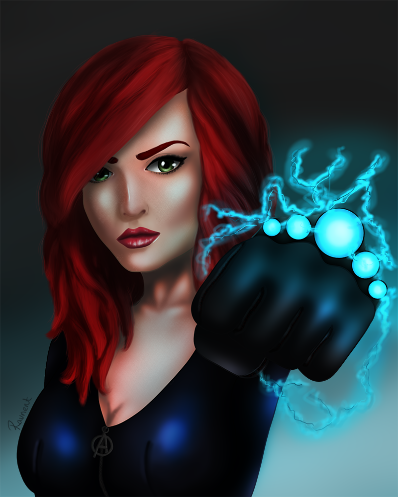 Black Widow by Ravnent
