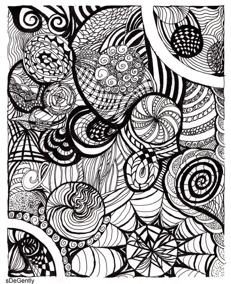 Artwork Using Lines : Types of lines curves by sdegently on deviantart