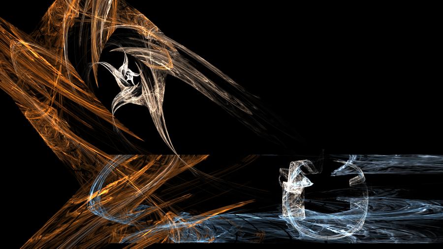 Dragon vs Wizard by gliscameria