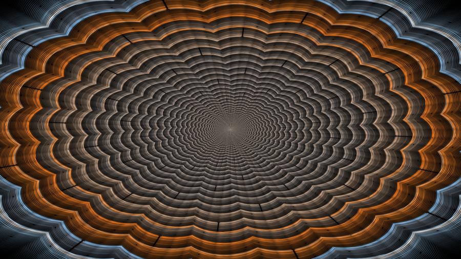 Warpy Optical Illusion by gliscameria